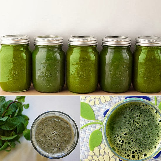 A Living Green Smoothie