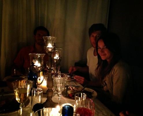 TG-candle light
