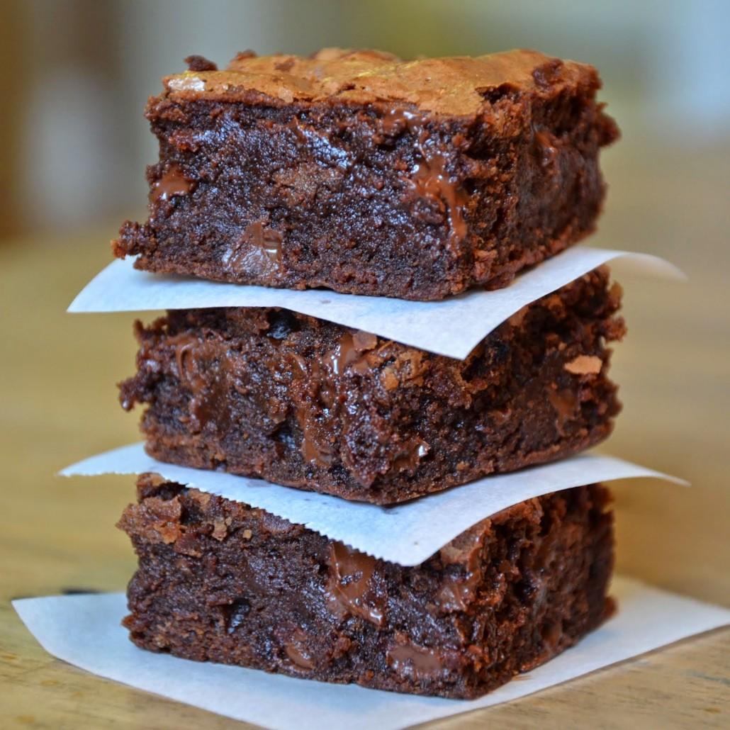 Шоколадный брауни рецепт пошагово орех