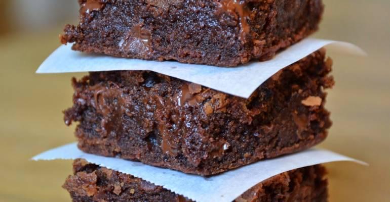 Gluten Free Sweet Potato Brownies