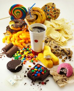 Products with a high sugar content