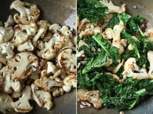 cauliflower & kale